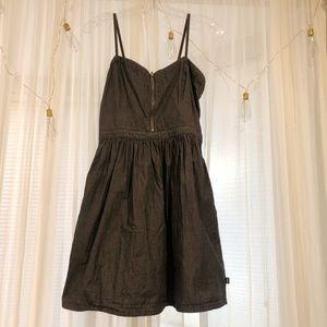 Vans Spaghetti Strap Zippered Front Dress